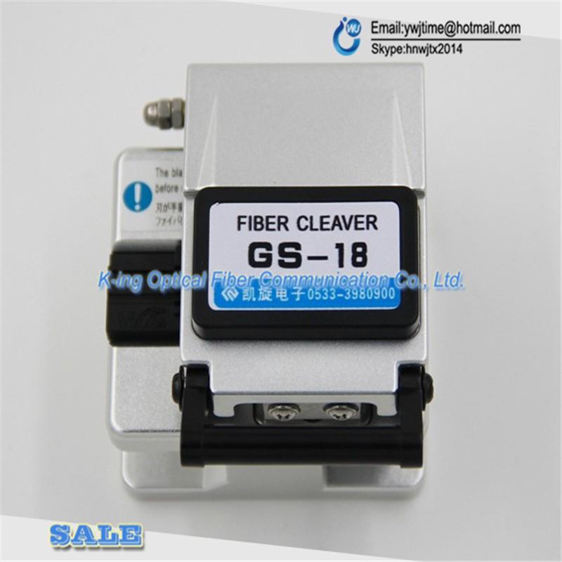 Buy GS-18 High precision fiber cleaver Optical fiber cutting knife FTTH Hot melt cold pick up tools Optical fiber cutter cheap