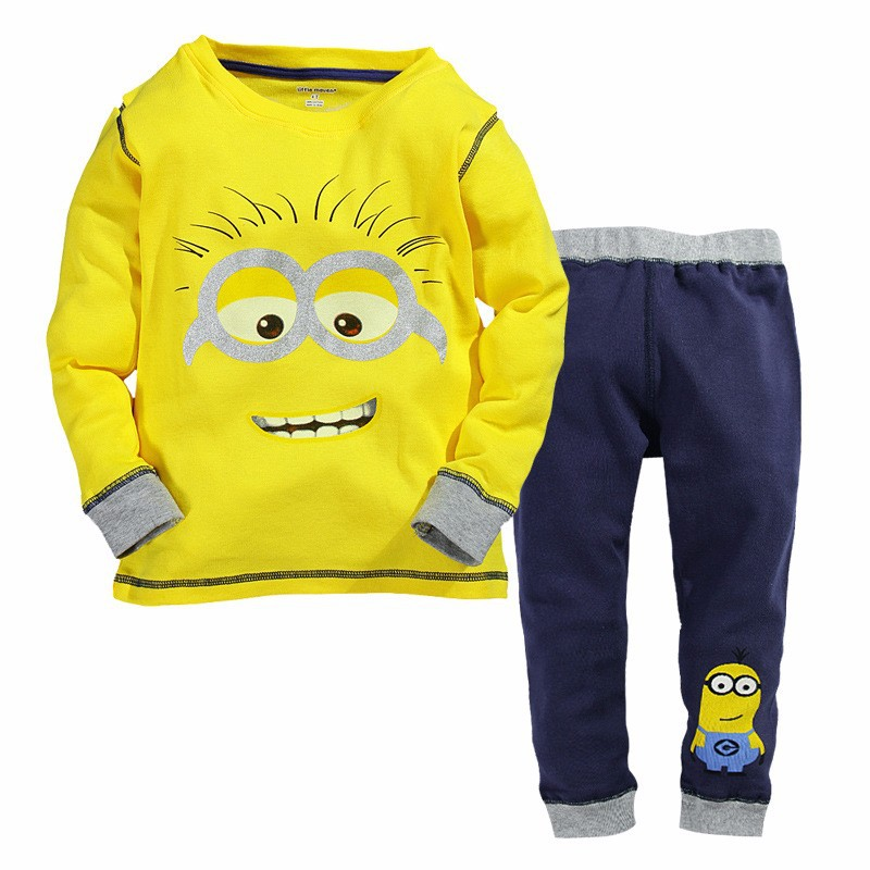 Free shipping 2014 new Children clothing set long sleeve t shirt coat+pant fashion boys girls clothes brand kids costume retail<br><br>Aliexpress