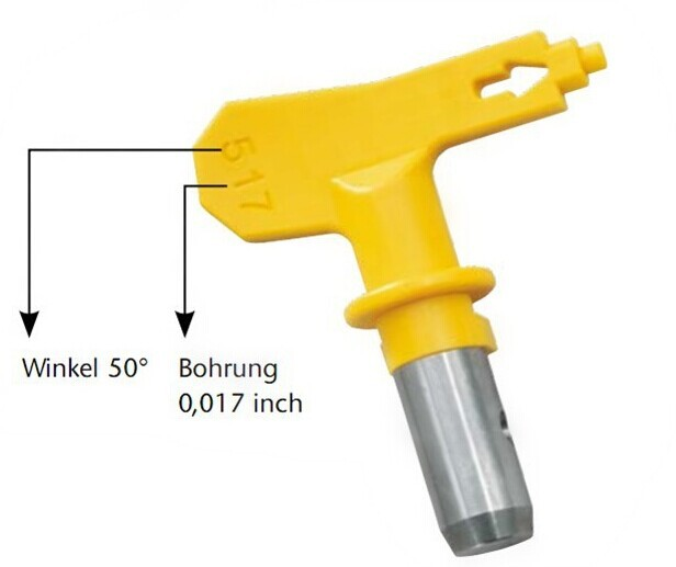 Aftermarket Airless paint sprayer parts Spray gun Tip guard 517/519/521/523 Graco Titan Wagner nozzle seat Airless Paint Sprayer(China (Mainland))