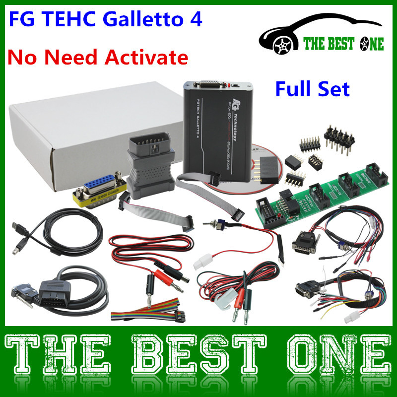 2015 High Quality Unlcok Fgtech Galletto 4 Master FG TECHE V54 ECU Flasher Support BDM Function Supports Windows XP/7(32bite)(China (Mainland))