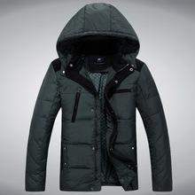 2015 New Fashion Parka Winter Coat Men Jacket Men s Thickening 90 White Duck Down Jacket
