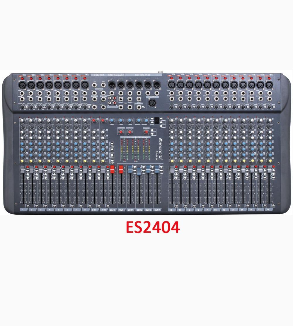 Harga Audio Mixer Audio Mixer Es2404 24 Channel