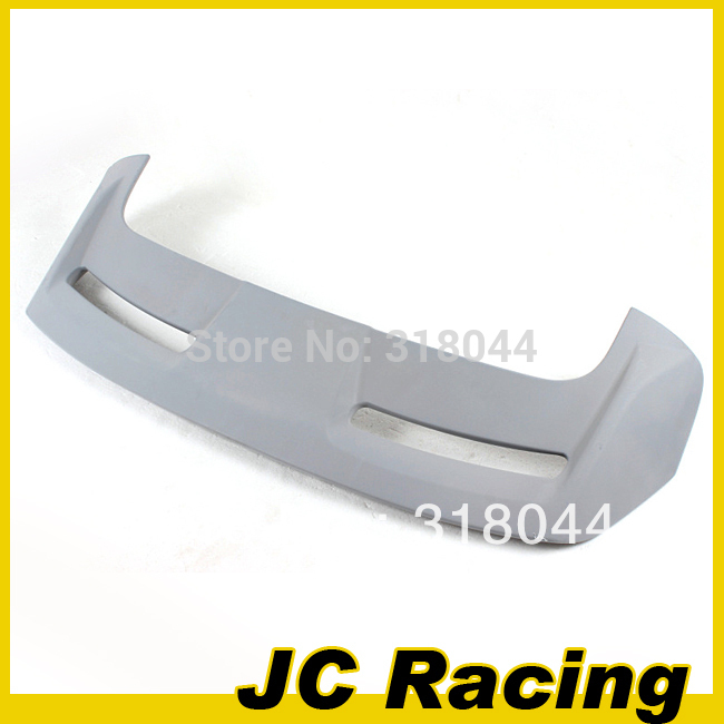 ABS ST Style Unpainted Grey Primer Rear Trunk Spoiler With Lamp For Ford Focus 12-13 (Fits For 12-13 Focus Hatchback )(China (Mainland))