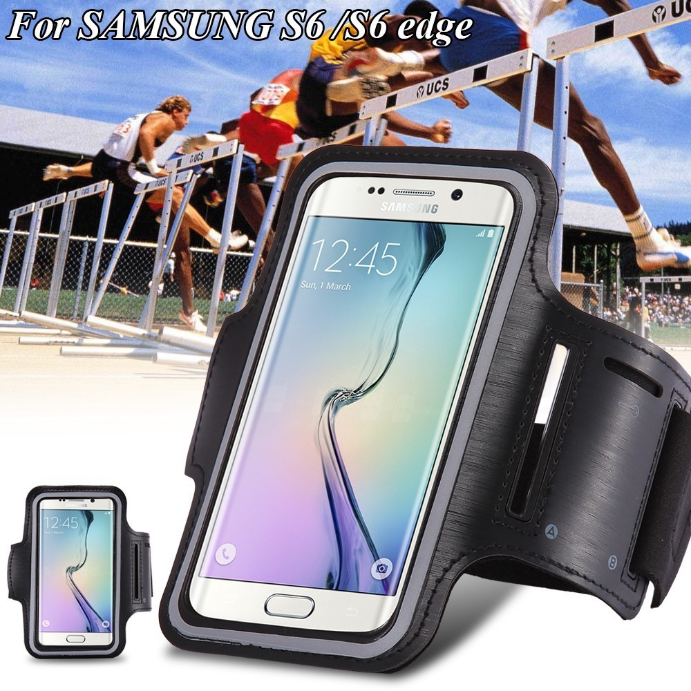 For Samsung Galaxy s3 S4 S5 S6 S6 EDGE 4.2-5 inch Sport Running Armband Bag Cases Waterproof Arm band Phone Cases Cover(China (Mainland))