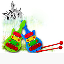 New Arrival Hot Sell Baby Child Kid 4-Note Xylophone Musical Toys Wisdom Development Serinette Birthday Gift For Your Cute Baby(China (Mainland))