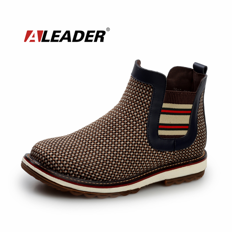 Fashion Mens Chelsea Boots 2015 Autumn Casual Ankle Boots for Man Western Winter Mens Boots Shoes British Dress Boots Botas