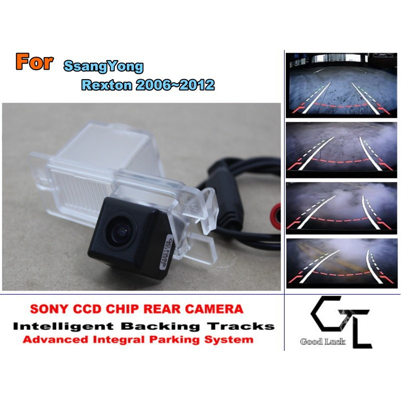 Advance Japan imports HD CCD Backing Tracks Chip For SsangYong Rexton Y300 2006 ~ 2012 ackup Rearview Camera / High Quality(China (Mainland))