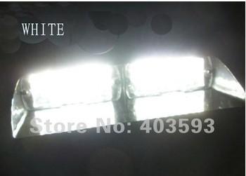 16 LED Strobe Light Flash Warning EMS Police Car Truck Firemen Lamp White Blue Amber Red Automobile dash Emergency DRL Light(China (Mainland))