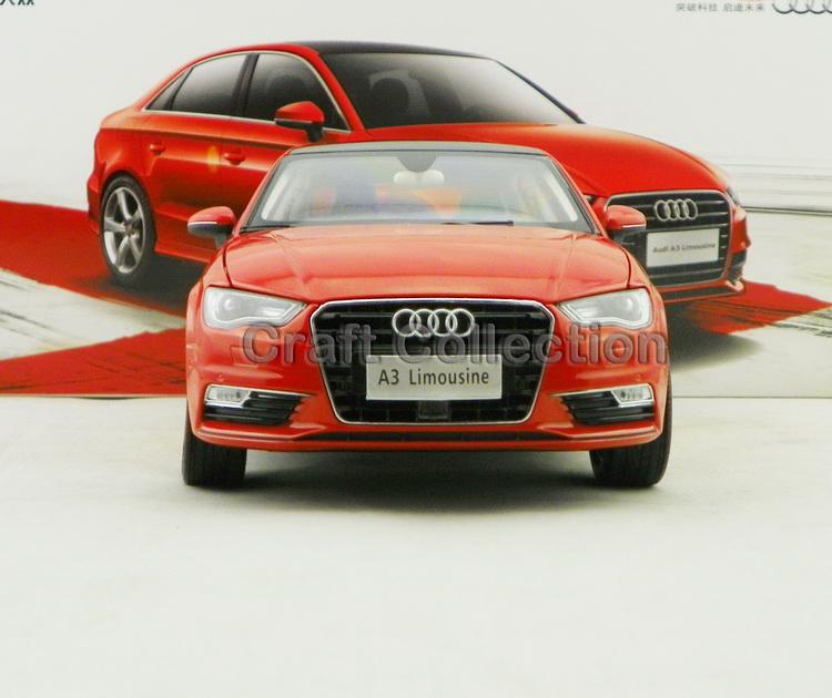 Red 1:18 Car Model Audi A3 2012 Sedan Alloy Toy Car Mini Car Miniature Automobile<br><br>Aliexpress