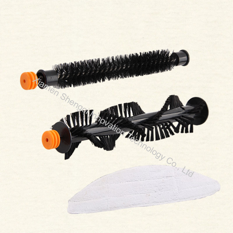 Original A380 Small middle brush, Big middle brush and Mop of robot vacuum cleaner accessories(China (Mainland))