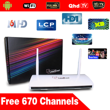 Arabic Iptv Set Top Box Android Set Top Box Leadcool Android Box With One Year Arabic Iptv Account 650 Channels Sports Canal