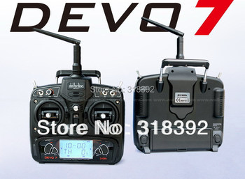 hot selling 7ch 2.4G Walkera RC helicopter spare part  transmitter For helicopter DEVO7 RX701 receiver  with free shippi boy toy