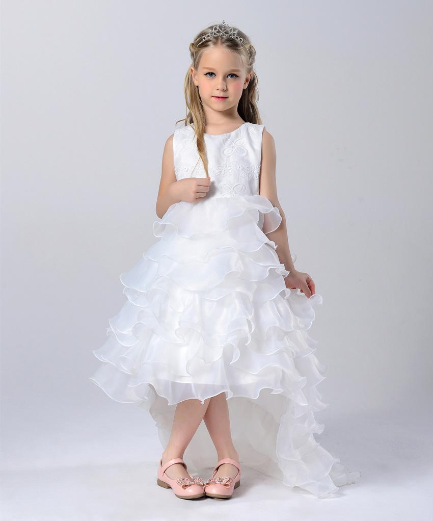 Vestido Cinderela Summer Dresses 2016 Brand Baby Wear Girls Princess Party Dress 3 4 5 6 7 8 9 Year Wear Children's Clothing(China (Mainland))