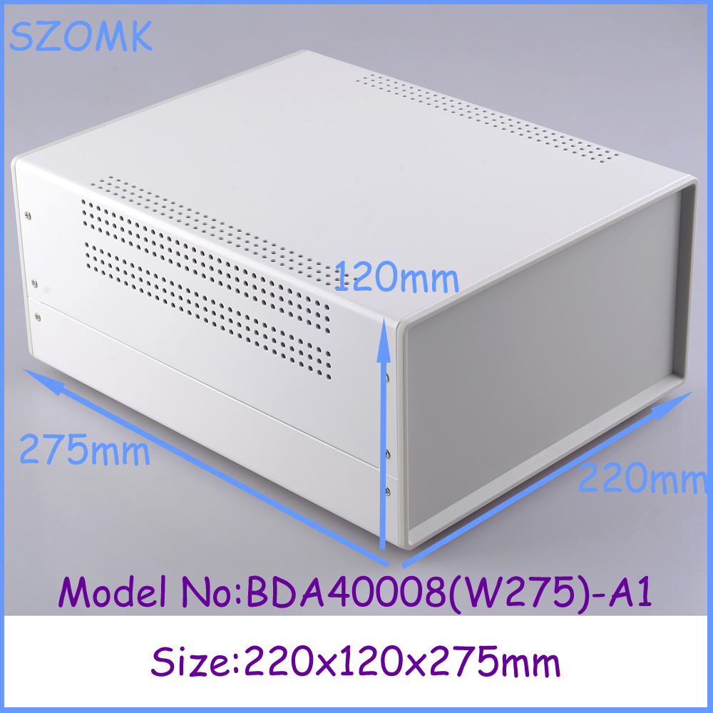 (1pcs)220x120x275mm enclosures for electronics distribution box 2014 new electronics project box electrical box<br><br>Aliexpress