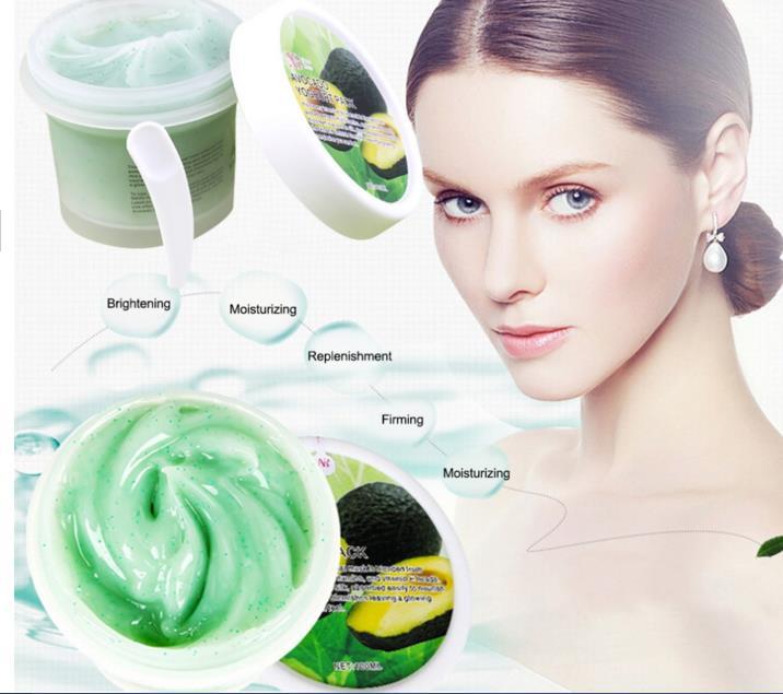 Niguluosi Avocados Face Mask Skin Care Remove Mite Face Care Treatment Acne Pimples Blackhead Whitening Cream Moisturizing 100g(China (Mainland))