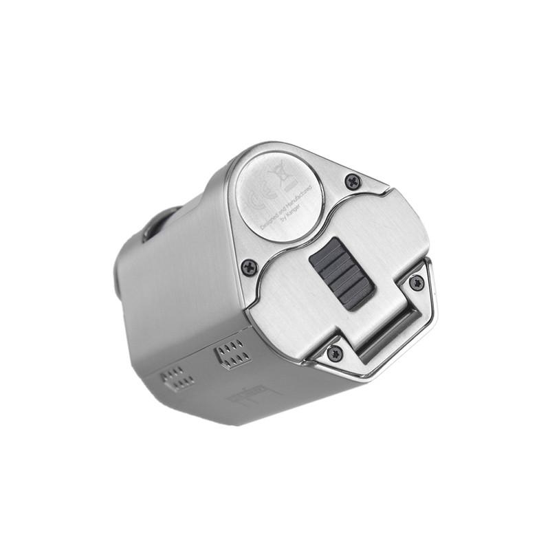 ถูก เดิมKanger CUPTI 2ชุดที่มีCupti IIกล่องสมัยและ5.0มิลลิลิตรถังฉีดน้ำKangertech Cupti 75วัตต์บุหรี่อิเล็กทรอนิกส์Vapeชุด