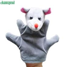 CHAMSGEND Modern Cartoon Children Baby Toy Finger Puppets Hand Puppet Doll Animals Gloves For Kids H16(China (Mainland))