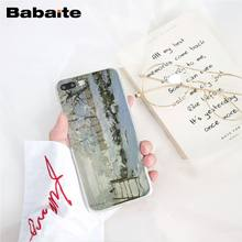 Babaite Claude Monet Oil Painting Sunflower Phone Case for iphone 11 Pro 11Pro Max X XS MAX 6 6s 7 7plus 8 8Plus 5 5S SE XR(China)
