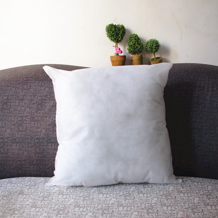 Nonwoven cotton/fill vacuum 45*45/50*50 office/car/safe/home/health cushion pillow inner/core/filling/interior ,free shipping(China (Mainland))
