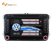 "7"" 2 din Car DVD for Volkswagen VW golf 4 golf 5 6 touran passat B6 sharan jetta caddy transporter t5 polo tiguan with gps card(China (Mainland))"