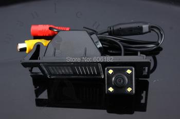 Manleno Original CCD rear view camera IX35 HD car backup camera for Hyundai IX35 Tucson 2010-2015 LED night vision waterproof