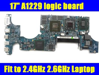 """17"""" A1261 MB166 motherboard for macbook pro T9300 2.5G 661-4963 661-4625 820-2262-A late 2008"""
