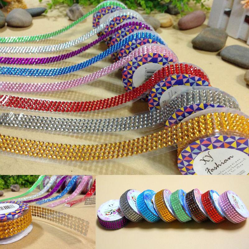 Гаджет  1 X 2015 Self-Adhesive Acrylic Rhinestones Sticker Scrapbooking Craft Gems 8 Colors None Офисные и Школьные принадлежности