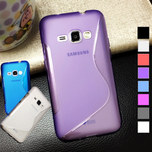 S Line Shape Soft TPU Gel Phone Case Samsung Galaxy J1 J3 J5 J7 2016 Mini J105 J100 J2 Ace Transparent Back Cover Bag - EQT Group store