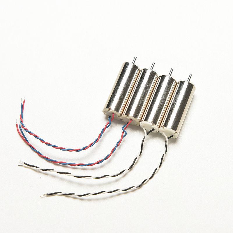 4pcs Micro Motor Set for font b Hubsan b font font b x4 b font H107L