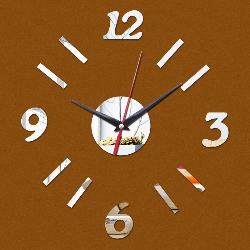 2016 New Wall Clock Clocks Reloj De Pared Large Decorative Horloge Quartz Watch Living Room Modern Acrylic Stickers Freeshipping(China (Mainland))