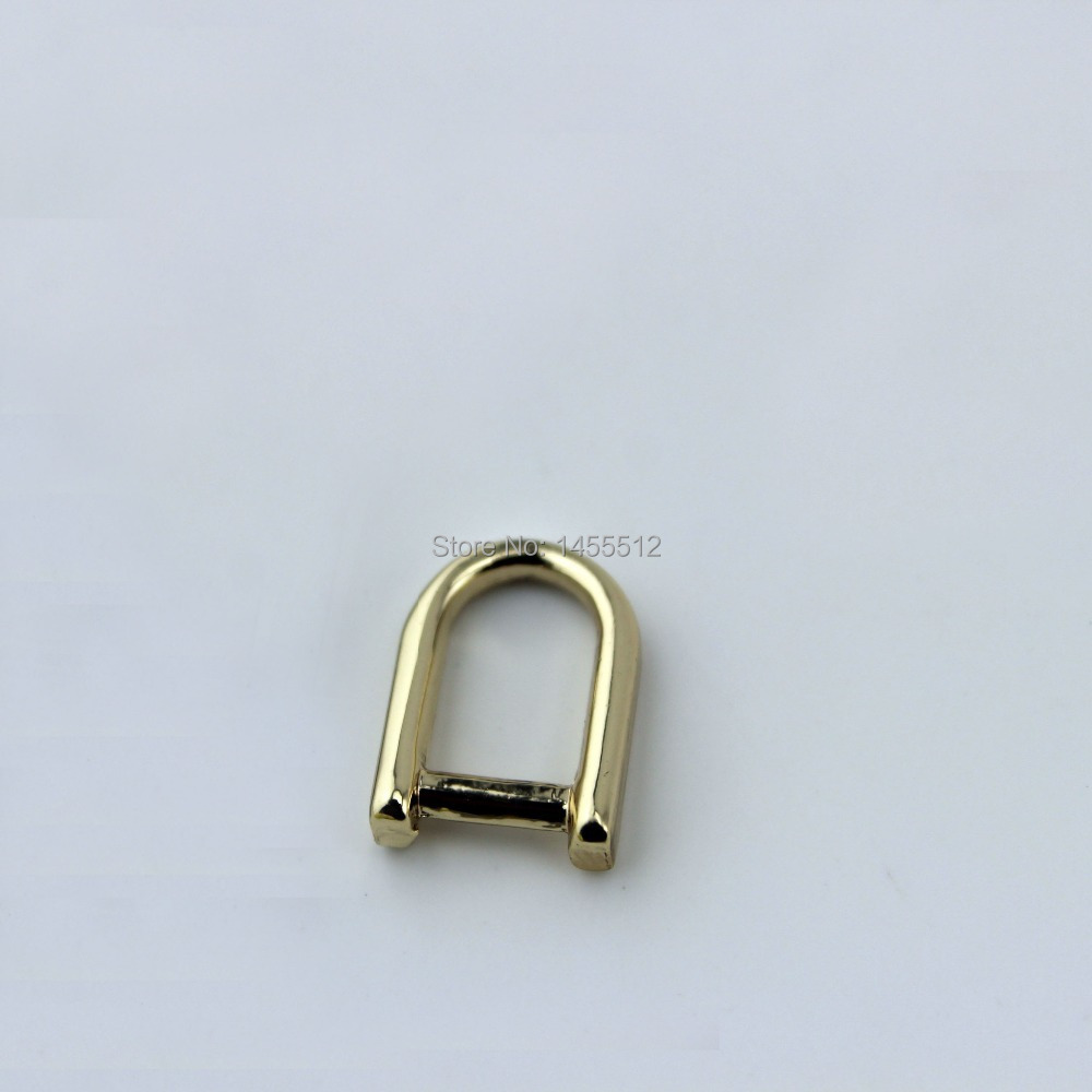 6*9mm good quality alloy metal gold small D ring accessories for DIY bags zipper,free drop shipping b2c online shop(China (Mainland))