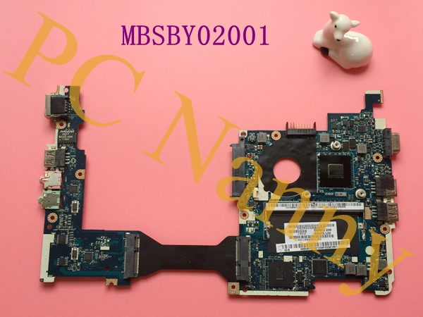 For Gateway LT23 Acer Aspire One AO260 Netbook Motherboard Intel Atom N455 NM10 DDR3 MBSBY02001 LA-6222P(China (Mainland))