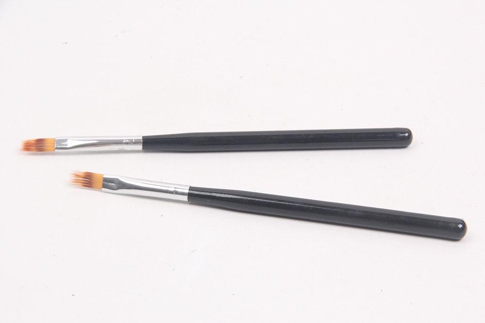 ANY 1PC Black Handle Nylon Hair Ombre Brush Nail Art Brush Professional Nail Tools Single Piece Nail Brush