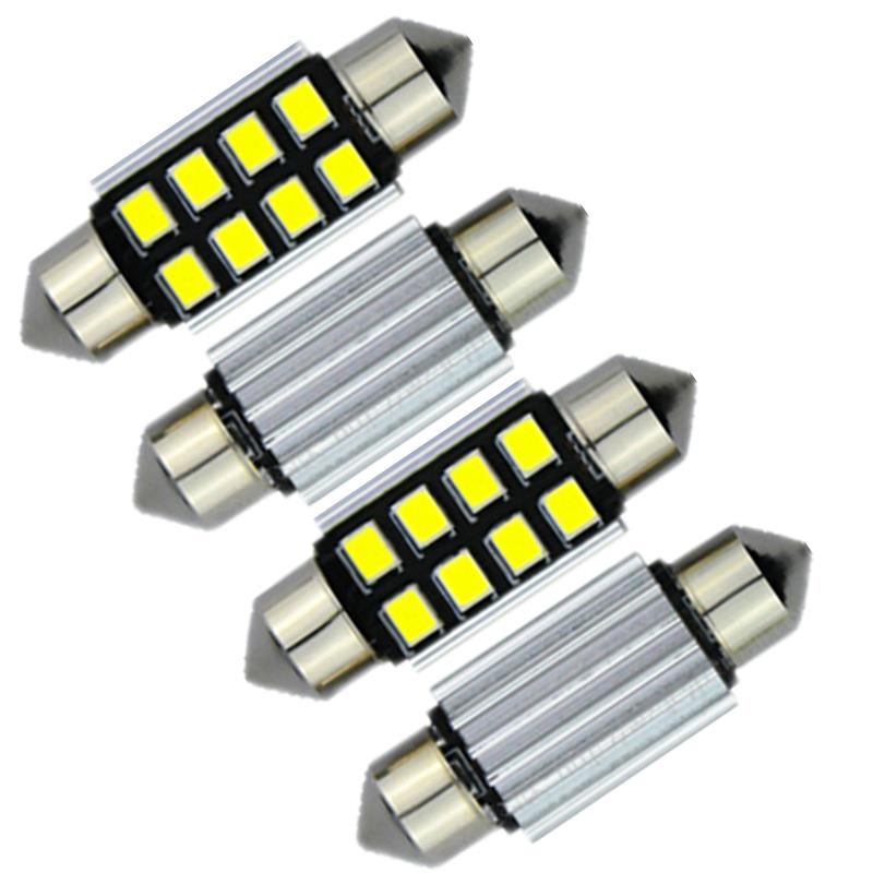 41mm 42mm 2835SMD Canbus LED Interior Dome Cargo Map Light Car Bulbs For Ford Flex F-150 F-250 F-350 Expedition Explorer 4pcs(China (Mainland))