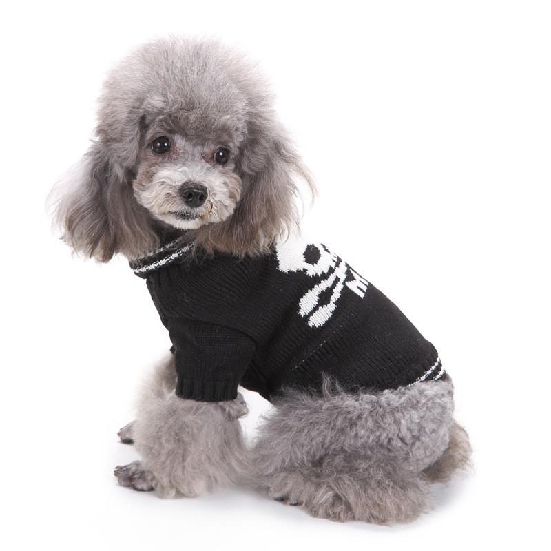 XS,2- Blu Pet Dog Cat Winter Caldo Dolcevita Natale Maglione Costume Apparel Costume Pet Dog