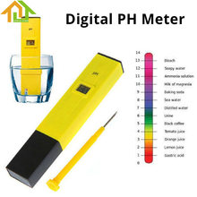 Buy 0.0-14.0pH Pen Water PH Meter Digital Tester Measure Range Aquarium Pool Water Laboratory Soil for $8.09 in AliExpress store