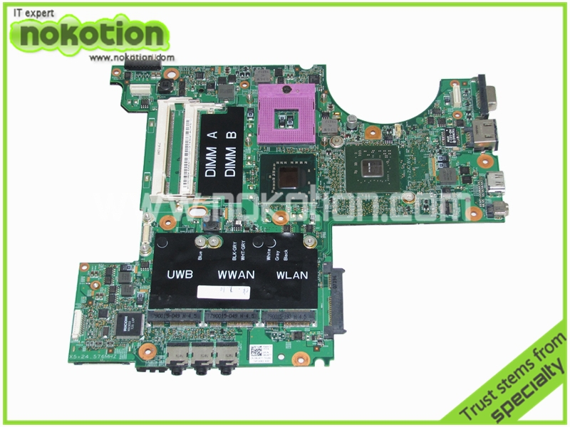 For Dell XPS M1530 Motherboard Intel DDR2 With nvidia GeForce 8400M G86-731-A2 update graphics RU477 CN-0RU477(China (Mainland))