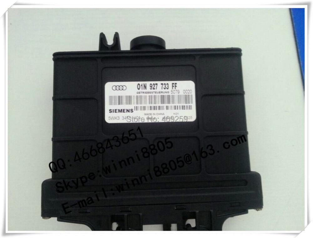 Engnine Control Unit (ECU) / For Passat car Gearbox Computer / wave box computer / 01N927733FF / 01N 927 733 FF(China (Mainland))