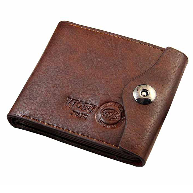 Men Hasp Wallet Leather Purse Trifold Wallets For Man High Quality Big Capacity Credit Crad Holders Money Bag Cheap(China (Mainland))