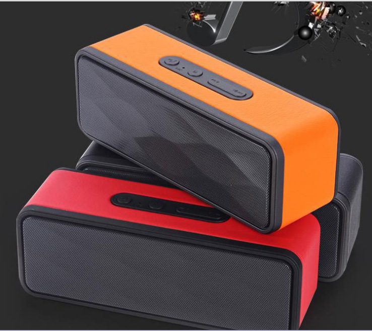 subwoofer Bluetooth speaker card radio mobile phone hands-free calls double horn subwoofer(China (Mainland))