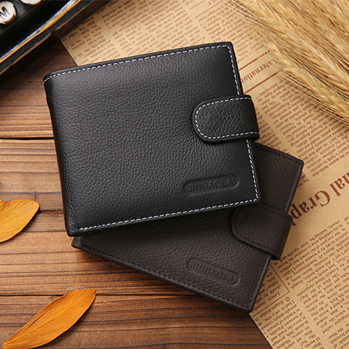 Men wallets 2015 genuine leather coin wallets for men SK0042 simline vintage genuine crazy horse cow leather men men s long hasp wallet wallets purse zipper coin pocket holder with chain