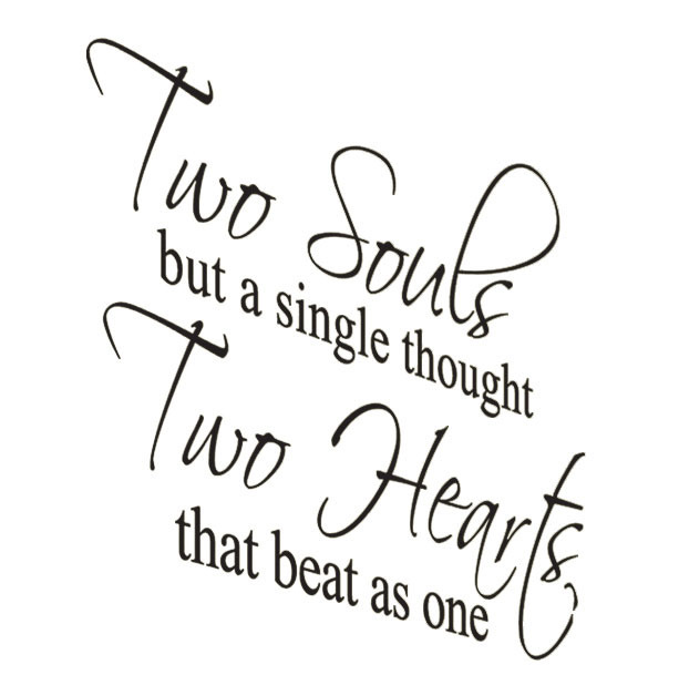 Two Souls But a Single