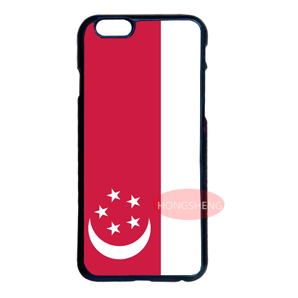 Singapore Flag Cover Case for LG G3 G4 iPod 4 5 6 Samsung Note 2 3 4 5 S2 S3 S4 S5 Mini S6 Edge Plus iPhone 4S 5 5S 5C 6 6S Plus(China (Mainland))