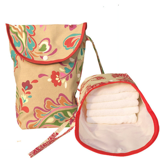 Мокрый сухой Засов младенца мешок пеленки мешок водонепроницаемый многоразовые ткань ...