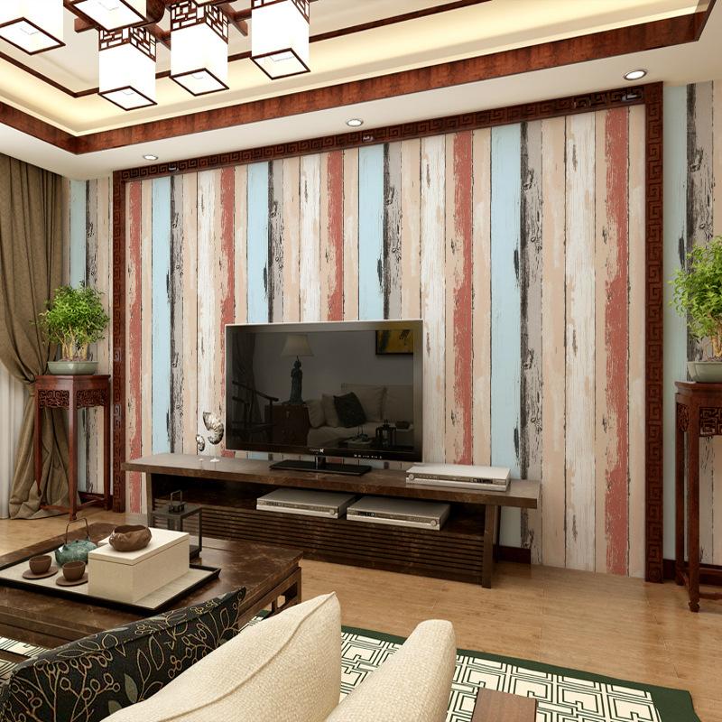 online kaufen gro handel holz plank tapete aus china holz plank tapete gro h ndler. Black Bedroom Furniture Sets. Home Design Ideas