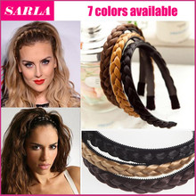 1PC Headband For Women Wedding Hair Bands Hairband Plaited Braided Hair Accessories(China (Mainland))