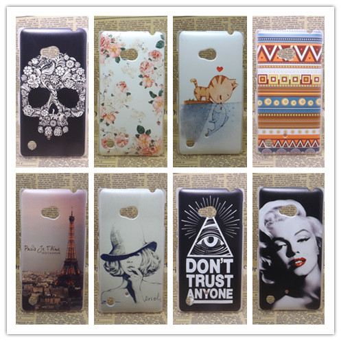 Brand New Multi species Painting Hard Plastic Phone Case Cover Nokia lumia 720 N720 +Free Screen Protector - All gadgets cooperation store