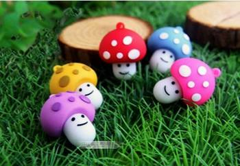 wholesale 10pcs/lot free shipping usb driver fashion mushroomed heads 2gb 4gb 8gb 16gb usb flash drive memory disk pen drive