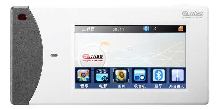 Home Audio video system,Ceiling Speaker system,Bluetooth digital stereo amplifier,remote control,touch screen in wall amplifier(China (Mainland))