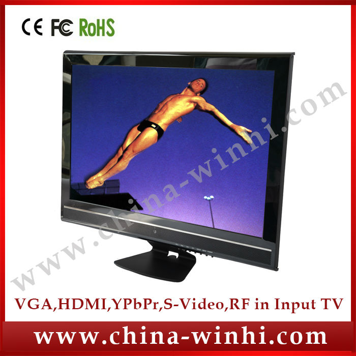 19 inch shopping memory card low cost tv Auto play advertising display monitor factory direct selling(China (Mainland))